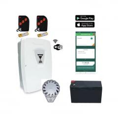 Central De Alarme Residencial WIFI C/APP P/Android eE IOS Com Bateria e 2 Controles Personalizavel